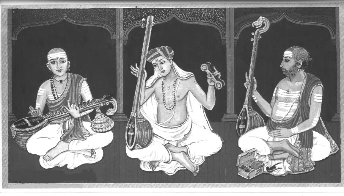 South Indian Classical Carnatic Music Krithi Archive with Online ...