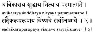 Vishnu Sahasranamam (Meanings)